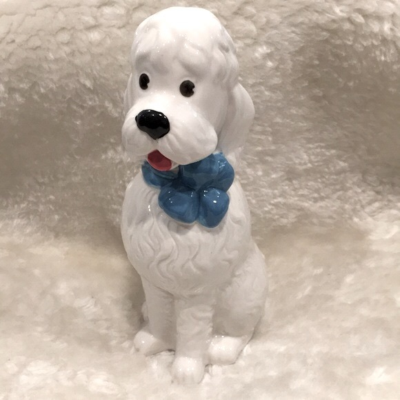 🎁 Urban Outfitters   Poodle Ceramic Bank